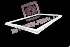 Уплотнитель 101*57 для  холодильника Индезит BА20 (холодильная камера) Профиль 022
