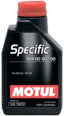 MOTUL SPECIFIС VW 504.00 / 507.00 5W-30 1л