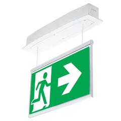 Эвакуационные световые указатели Suprema LED D-std PT-S IP54 Intelight