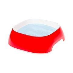 Пластиковая миска, Ferplast GLAM SMALL, красная 0,4 л