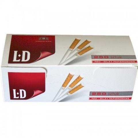 Сигаретные гильзы для набивки табаком  LD 250 шт