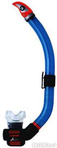 Трубка AquaLung Air Dry (прозрачный силикон)