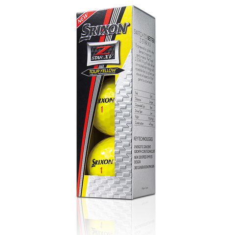 Srixon Z-STAR XV YELLOW