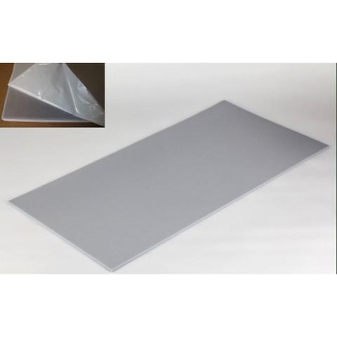 негорючая  акустическая панель ECHOTON FIREPROOF 100x50x1cm  из материала  BASOTECT серый  с адгезивным слоем