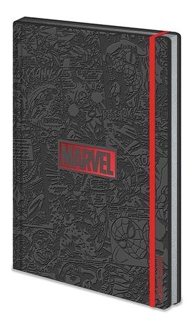 Записная книжка Marvel (черная)