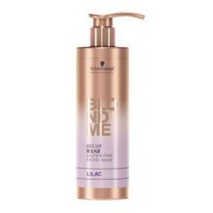 Schwarzkopf Blondme Blush Wash Lilac - Безсульфатный оттеночный шампунь для осветленных волос Лиловый