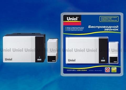 Uniel Звонок UDB-006W-R1T1-WH