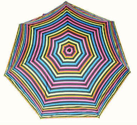 Зонт мини Guy de Jean 2002-6 à Raies black