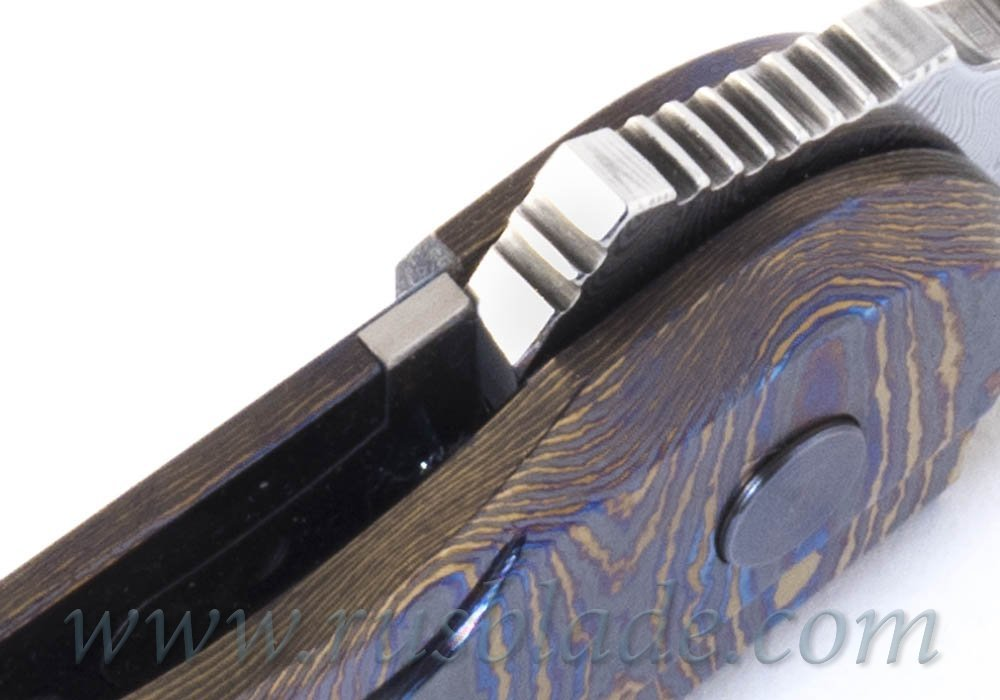 Cheburkov Full Custom Colibri Damascus Timascus One-Off