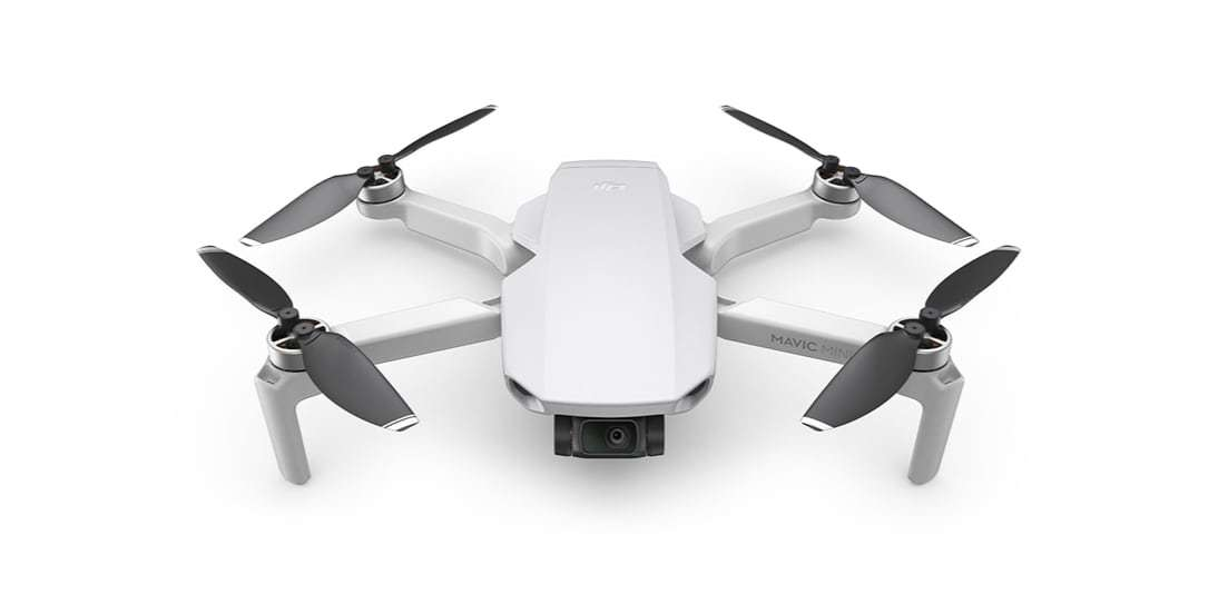 Квадрокоптер DJI Mavic Mini вид спереди