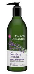 Лосьон для рук и тела с маслом лаванды, Avalon Organics