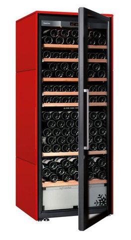 Винный шкаф EuroCave D Collection L красный сатин, стандартная комплектация