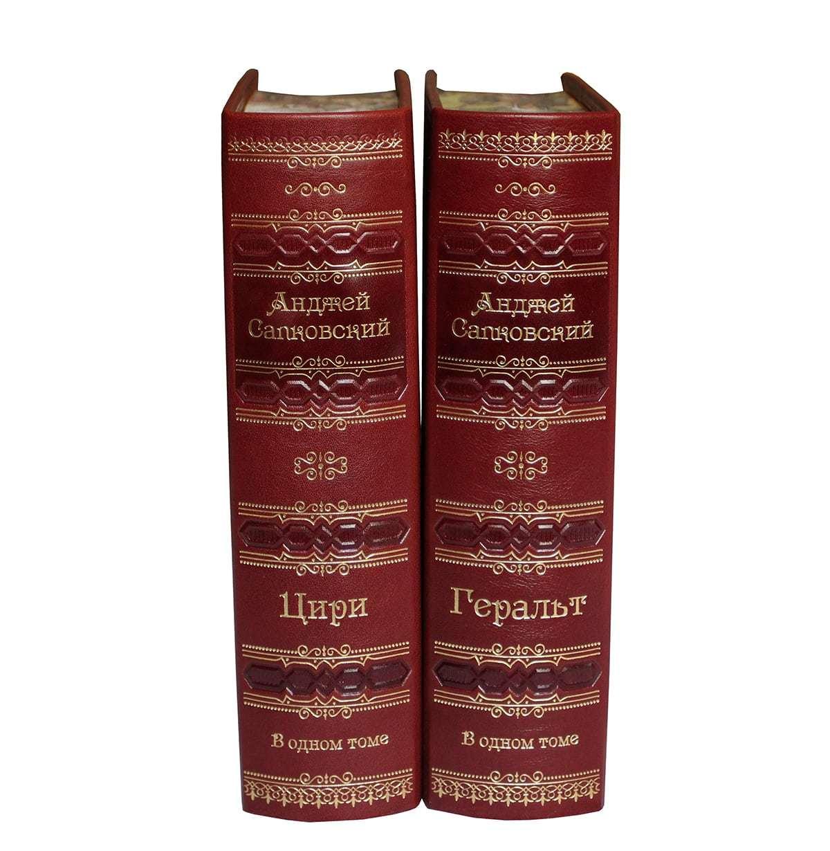 Сапковский А. Ведьмак в 2 книгах