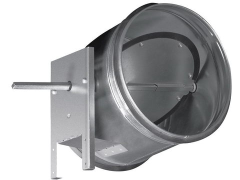 Дроссель-клапан D100 ZSK под электропривод