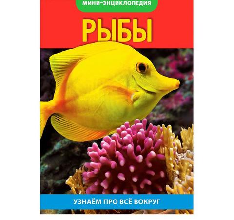 071-0119 Мини-энциклопедия «Рыбы», 20 страниц