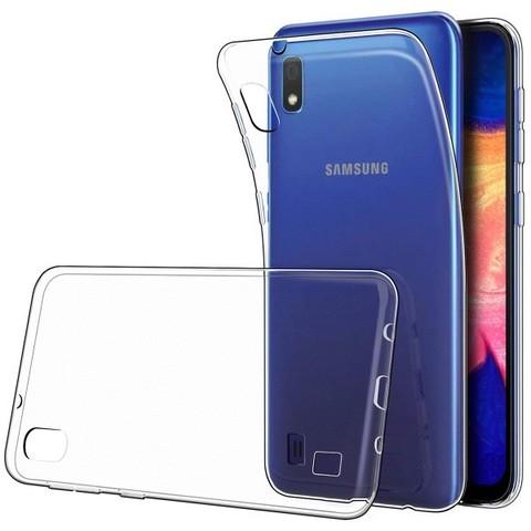 Чехол силиконовый для Samsung Galaxy A10, прозрачный.