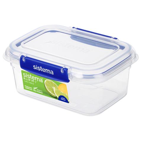 """Герметичный контейнер """"Sistema """"KLIP IT+"""" 1 л"""