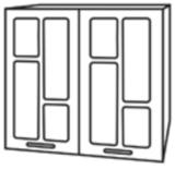 Кухня «Техно» шкаф верхний ШВС800