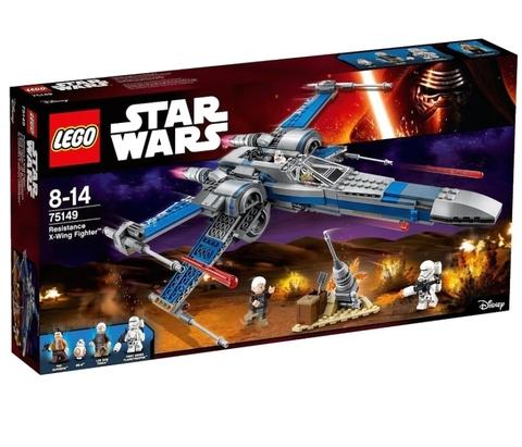 LEGO Star Wars: Истребитель Сопротивления типа Икс 75149 — Resistance X-wing Fighter — Лего Звездные войны Стар Ворз