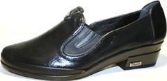 Осенние туфли женские черные Yussi K 6520116