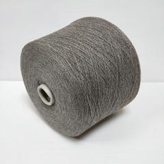 Linsieme, Wool100, Меринос 100%, Седой коричневый со светлым сиреневато-серым, 2/30, 1500 м в 100 г