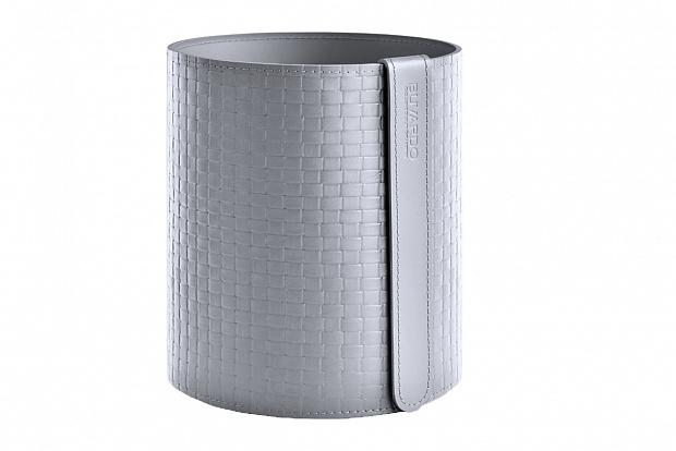 Корзина D30 из кожи цвет treccia/серый