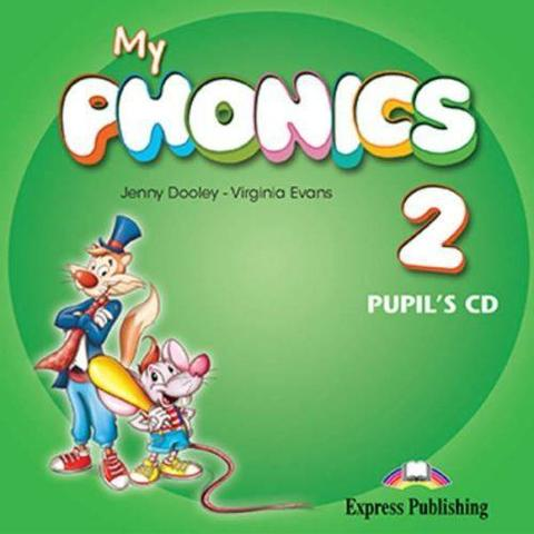 My Phonics 2 Pupil's Audio CD. Аудио CD для работы дома