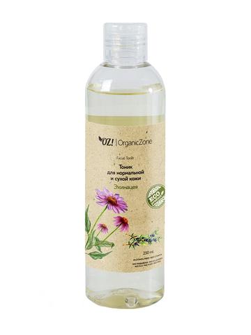 Тоник для нормальной и сухой кожи «Эхинацея» OrganicZone