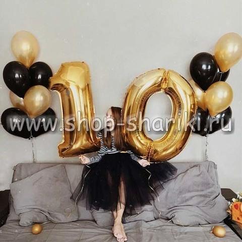 Шары на день рождения 10 лет