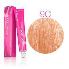 Matrix Socolor Beauty 9C очень светлый блондин медный, стойкая крем-краска для волос