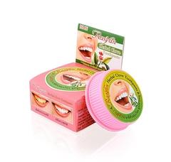 Тайская отбеливающая зубная паста с гвоздикой ISME RasYan Herbal Clove Toothpaste, 25 г