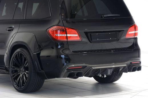 Карбоновый диффузор  для Mercedes GLS