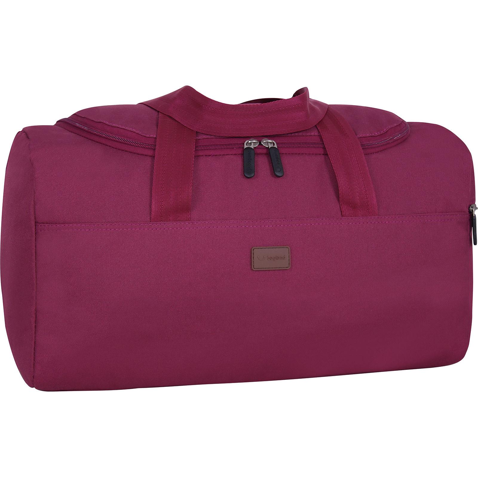 Дорожные сумки Сумка Bagland Boston 25 л. Вишня (0037466) IMG_7098.JPG