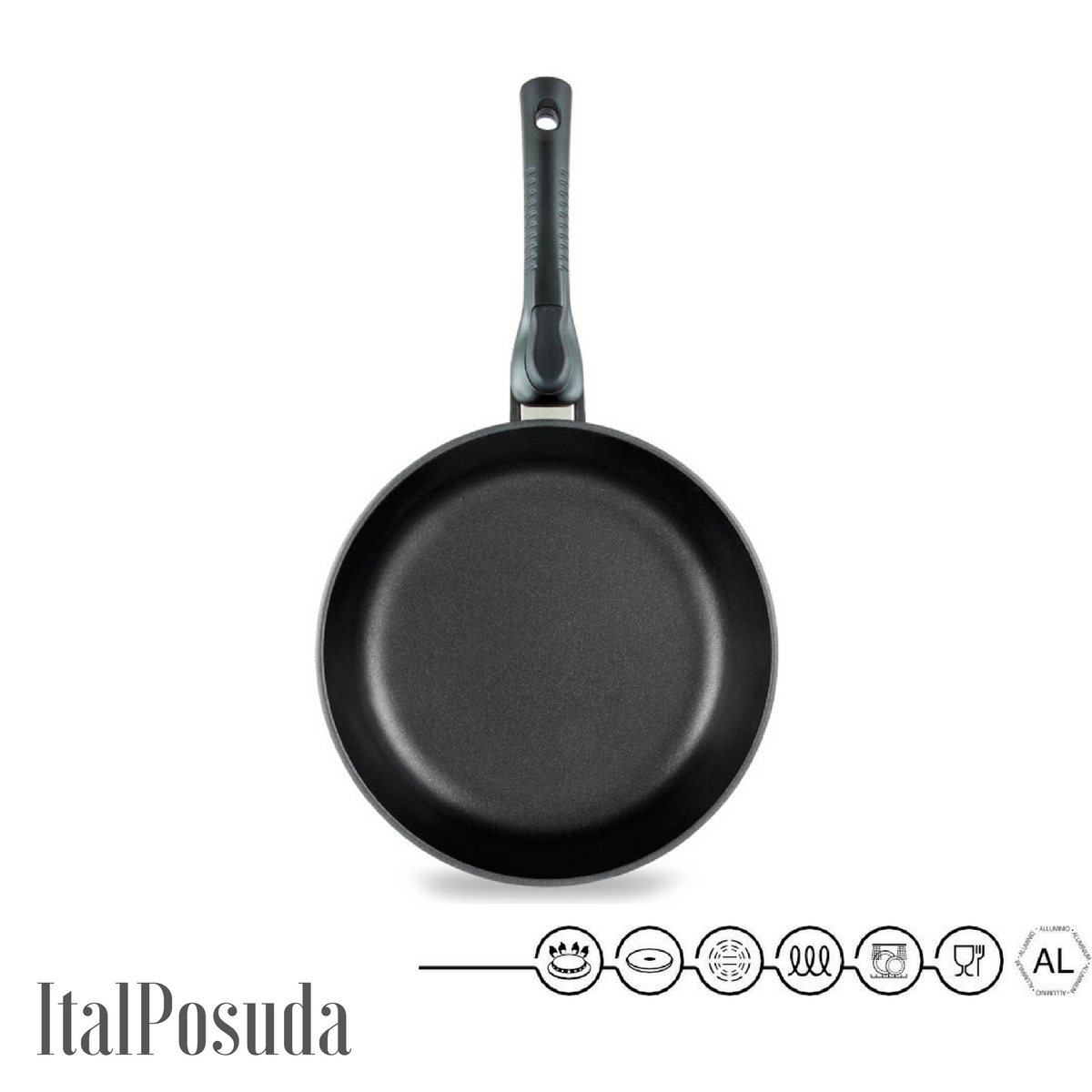 Сковорода со съёмной ручкой НМП Ферра Индукция, 26 см
