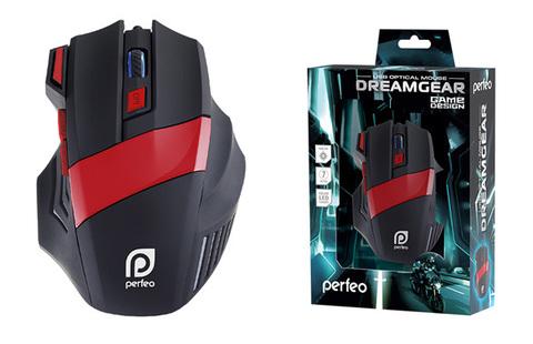 Мышь беспроводная  Perfeo PF-1711-GM