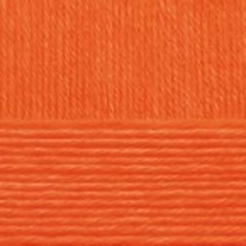 Купить Пряжа Пехорка Детский каприз Код цвета 284-Оранжевый | Интернет-магазин пряжи «Пряха»