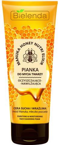 MANUKA HONEY Очищающая и увлажняющая пена для лица, сухая и чувствительная кожа, 150 г