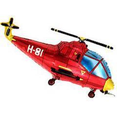 F Мини фигура Вертолет (красный) / Helicopter (14