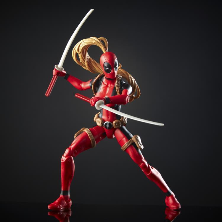 Фигурка Леди Дедпул (Lady Deadpool) Marvel Legends от Hasbro 15 см
