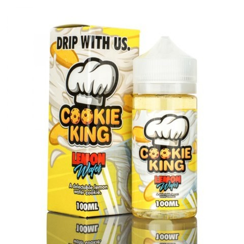 Cookie King Cookie King: Жидкость Lemon Wafer