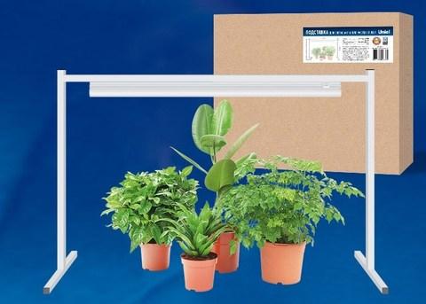 Светильник для растений светодиодный ULI-P16-10W/SPLE IP20 WHITE 570мм с регулируемой подставкой