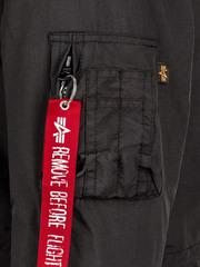 Парка Alpha Industries J-4 Impact Fishtail W Black