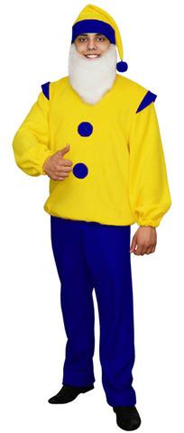 Карнавальный костюм Гном синий