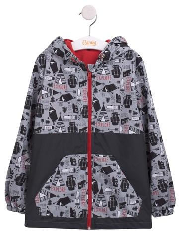 КТ184 Куртка облегченная для мальчика (ветровка)