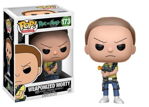Weaponized Morty Funko Pop! Vinyl Figure || Вооруженный Морти