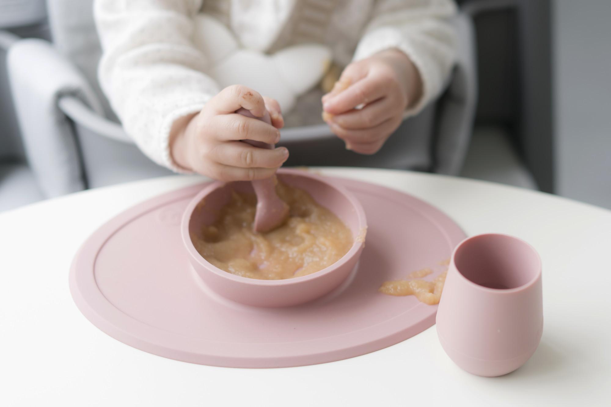 Кружка силиконовая цвет оливковый EZPZ Tiny Cup