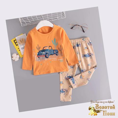 Пижама хлопок мальчику (6-9) 200926-П1500.1