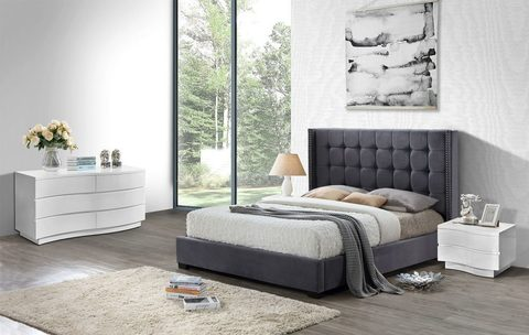 Кровать INFI Grey