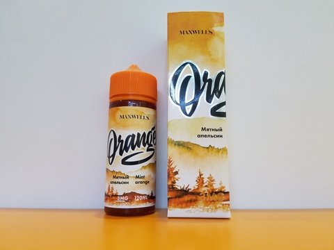 ORANGE by MAXWELLS 120ml