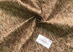 Велюр Принт коричневый